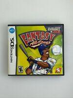 Major League Baseball 2K8 Fantasy All-Stars - Nintendo DS Game - Complete