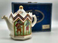 Vintage Porcelain Charles I Teapot Boxed by Sadler