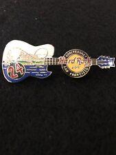 Hard Rock Cafe SAN FRANCISCO 2008 24th Anniversary PIN Alcatraz Guitar HR #45255