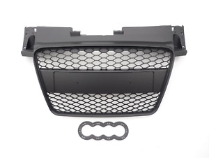 Black honeycomb sports car grill for Audi TT 8J 2006+ mk2 TTS TTRS Sline grille