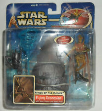 star wars AOTC Flying Geonosian with Sonic Blaster and Attack Pod