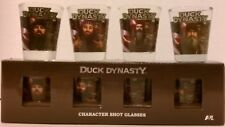 Duck Dynasty Character 4 Shot Glass Set