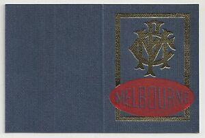 1980 Melbourne Football club Adult season ticket no 1447 Excellent regis slip