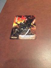 2014 Warhammer Diskwars Season 1 Game Night Intimidate Promo Card X1