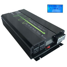 3000W Pure Sine Wave Power Inverter 12V DC to 120V AC for Car Home Solar from US