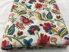 10 Yard India Desert Fabric from Rajasthan Ajrakh Traditional Cotton Tribal Arts