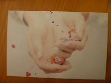 """POSTCARD... """"VICTORIA"""" BY BROOK-HOLM..CONFETTI WITHIN HANDS...CONFETTI...WEDDING"""
