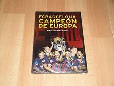 FC BARCELONA BARÇA CAMPEON DE EUROPA FINAL DE BERLIN 2015 DVD NUEVO PRECINTADO
