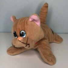 Tonka Pound Puppy Purries Orange Stripe Tiger Tabby Kitty Kitten Cat