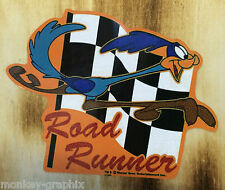 Rockabilly Oldschool Sticker Road Runner Beep Aufkleber Vintage Hotrod Ratrod US