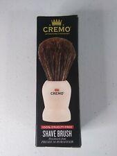 Cremo Shave Brush Handmade from Premium Horsehair 100% Cruelty Free New