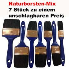 Malerpinsel, Lackierpinsel, Lasurpinsel, Pinsel Set Flachpinsel Satz 7 tlg.