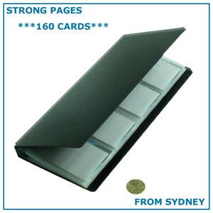 160 Business Card Holder Book Booklet Wallet Pouch Organiser Folder