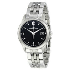 Jaeger LeCoultre Master Control Date Black Dial Automatic Mens Watch Q1548171