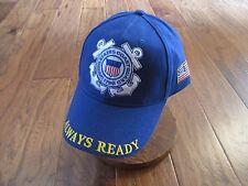United States Coast Guard Always Ready Hat Ball Cap Uscg Semper Paratus