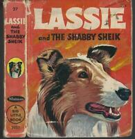 Lassie Come Home Lassie and the Shabby Sheik Vintage Dog Stories Lot of Two