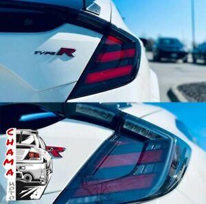 LED Taillight For Honda Civic Type R 10th hatchback 2016 - 2021 FC Fk7 Fk8