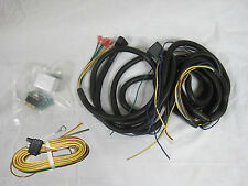 Universal off road light wire harness, flasher, headlight switch & tail lights