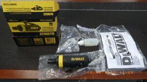 """Dewalt DWMT70783 Pneumatic Straight Die Grinder, ¼"""" Collets, 25000 R (TDW009854)"""