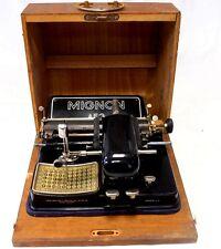 ►Antigua maquina de escribir de PUNZON la mitica MIGNON nº 4 de 1925 TYPEWRITER
