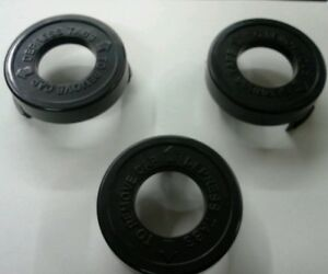 ( 3 ) Black & Decker Trimmer Replacement Cap / Cover  682378-02