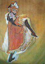 Henri TOULOUSE-LAUTREC AVRIL David Aldus riproduzione pittura ad olio