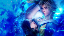 Final Fantasy X (10) - Beautiful High Quality Poster- 22in x 34in Fast Shipping
