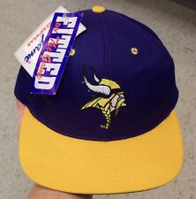 Minnesota Vikings hat Fitted sz. 7 VINTAGE 90's w/ tags and pin The Game retro