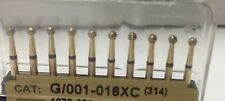 Dental Diamond Burr Extra Coarse ( 20 ) Round / Ball  (801) # G/001-016xc