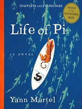 the LIFE OF PI by Yann Martel FREE USA SHIPPING pie *magical reading experience*