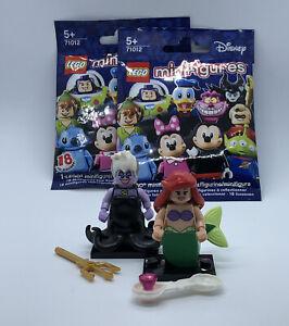Disney Lego Minifigures Series 1 71012 Ursula & Ariel Little Mermaid NEW IN BAGS