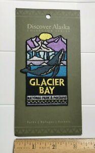 NIP Glacier Bay National Park Preserve Alaska Humpback Whale Embroidered Patch