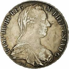 [#860860] Monnaie, Autriche, Joseph II, Thaler, 1780, Refrappe officielle, TTB