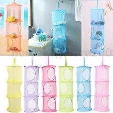 Foldable Hanging Storage Bag Toy Clothes Organizer Wall Closet Hanger Holder