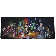 Star Wars Extended Portable Mousepad Non-slip Rubber Base y42 w0068