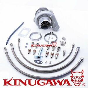 "Kinugawa Ball Bearing Turbo 3"" GTX3067R For Nissan RB20DET RB25DET/.61 T3 V-Band"