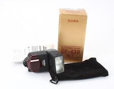 SIGMA ELECTRONIC FLASH EF-430ST FOR MINOLTA MAXXUM, BOXED/196690