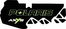 POLARIS tunnel GRAPHIC decals WRAP SWITCHBACK  800 600 PRO S X AXYS 120 137 lime