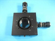 XY Axis Stage Lens Mount with Micrometer Fine Adjustment