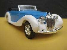 Vintage SOLIDO 1939 Delahaye 135M Figoni Falaschi - Mint Condition with case