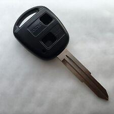 FITS Toyota Yaris Corolla Echo 2 button KEY FOB REMOTE CASE Blank TOY41 Blade