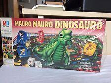 Gioco Tavolo da Società MAURO MAURO DINOSAURO MB GIOCHI 1989 NUOVO BLISTERATO