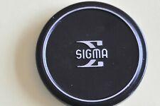 Vintage Sigma Metal 58mm Push Fit Camera Lens Cap