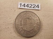 1955 Great Britain Half Crown Very Nice Collector Grade Album Coin - # 144224