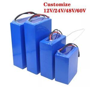 Customized 12V 24V 36V 48V 60V 72V electric vehicle battery pack(After