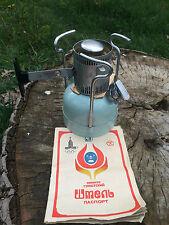 Vintage USSR Soviet Camping Stove Gasoline Petrol Primus SHMEL 1 Olympiad 1980
