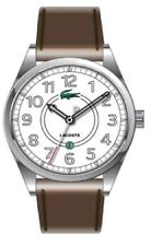 Lacoste 2010623 Men's Calf Skin Leather Strap Analogue Watch With Date Function