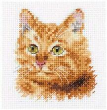 Alisa Counted Cross Stitch Kit - Ginger Cat - 0-207