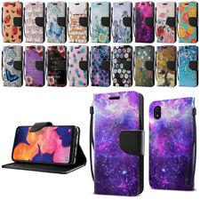 "For Samsung Galaxy A10e A102U 5.83"" 2019 Flip Wallet Kickstand Cover Case Pouch"