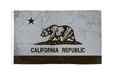 3x5 Grey and Black California Flag State Republic Ca Outdoor Garden Banner New